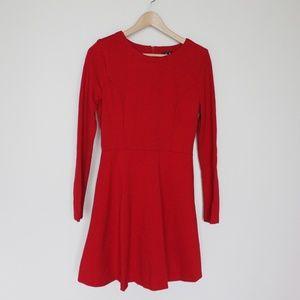 Lulu's red jersey dress never worn Medium